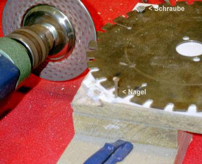 Favorit rictools Innovative Werkzeuge : Werkzeuge : Sägeblätter : Schärfen FW75